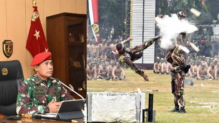 Kopassus HUT Ke-69, Ini Profil sang Danjen Mayjen TNI Mohamad Hasan: Mantan Pengawal Jokowi