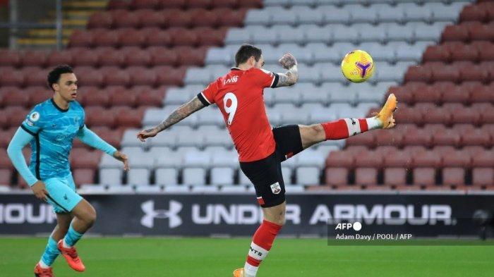 HASIL Southampton vs Liverpool Babak 1 Liga Inggris: Alexander-Arnold Blunder, The Saints Unggul 1-0