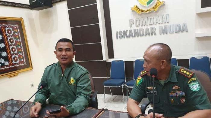 Pangdam Iskandar Muda Pastikan 4 Oknum TNI Pesta Sabu Diproses Hukum