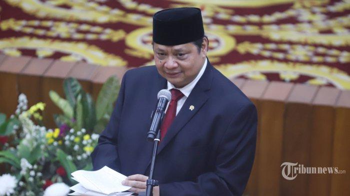 Menteri Koordinator Bidang Perekonomian (Menko Perekonomian), Airlangga Hartarto.