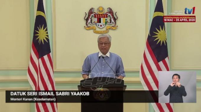 Menteri Senior (Keamanan) Malaysia Datuk Seri Ismail Sabri Yaakob
