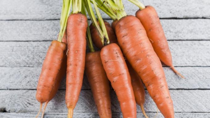 Daun wortel baik untuk kesehatan