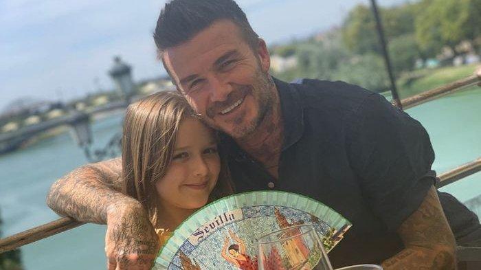 Cium Putrinya di Tempat Umum, David Beckham Kembali Tuai Kontroversi