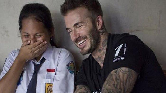 David Beckham Singgung Kunjungan ke Indonesia pada 2018 dalam Pidatonya di KTT UNICEF