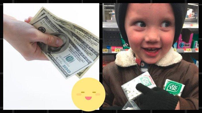 Anak Ini Dapat Uang Jajan Lebih karena Berkelakukan Baik, tapi yang Dibelinya Bikin Sang Ibu Kaget
