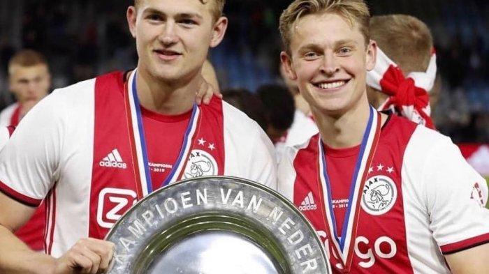 De Jong dan De Ligt Saat di Ajax Amsterdam