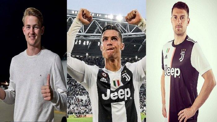VIDEO & FOTO De Ligt Jalani Tes Medis di Markas Juventus, Tampil Beda dari C Ronaldo & Ramsey