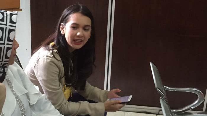 Dea Annisa saat ditemui di Pengadilan Negeri Jakarta Selatan, Kamis (31/5/2018).