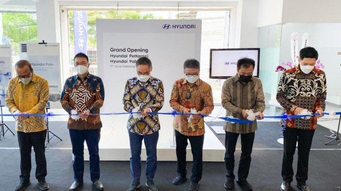 Dilengkapi Charging Station untuk Mobil Listrik, Hyundai Buka Dua Dealer Sekaligus di Sulawesi
