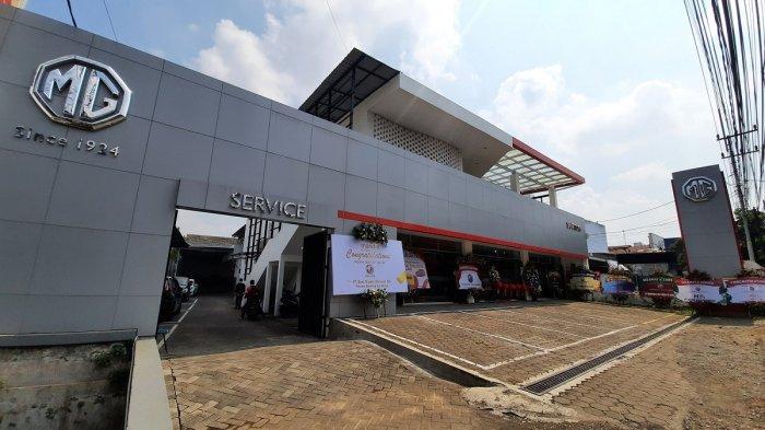 MG Buka Dealer 3S Pertama di Jalan Letjen Sutoyo Malang