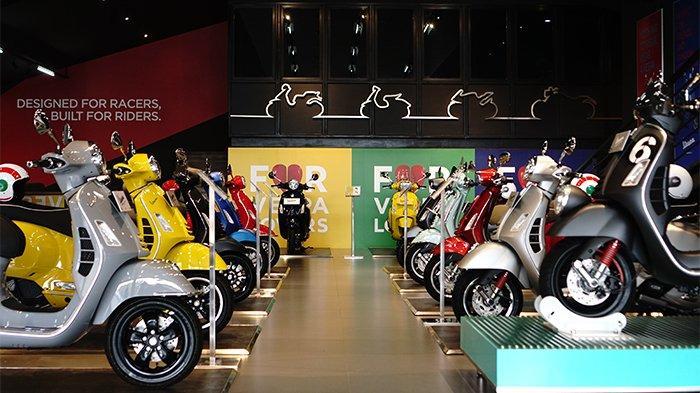 Konsep Lebih Memukau, Piaggio Indonesia Meresmikan Dealer Motoplex 4 Brand Baru di Jakarta Selatan