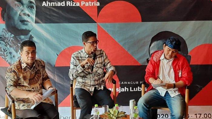 Jelang Paripurna Pemilihan, Dua Cawagub DKI Terlibat Adu Gagasan di Debat Terbuka