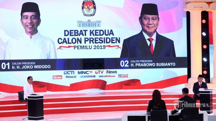 UPDATE TERBARU SURVEI Elektabilitas Jokowi vs Prabowo Kamis 21 Februari 2019 Pasca Debat Ke-2 Capres
