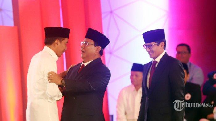 Jokowi Sebut Prabowo-Sandi Pakai Konsultan Asing, Prabowo Subianto: Enggaklah, Bayarnya Mahal