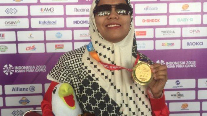 Debi Ariesta Bangkit Dari Keterpurukan Dan Raih Dua Emas di Asian Para Games