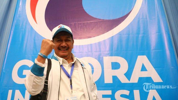 Mantan Wakil Gubernur Jawa Barat, Deddy Mizwar berpose saat ditemui di acara Silaturahmi Nasional Partai Gelora di Jakarta, Sabtu (9/11/2019). Tribunnews/Irwan Rismawan