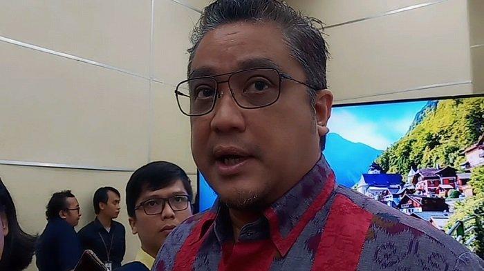 Ketua Komisi IX DPR RI Dede Yusuf saat ditemui usai menghadiri diskusi yang digelar di Kantor Kementerian Komunikasi dan Informatika (Kemenkominfo), Jalan Medan Merdeka Barat, Jakarta Pusat, Senin (16/9/2019)