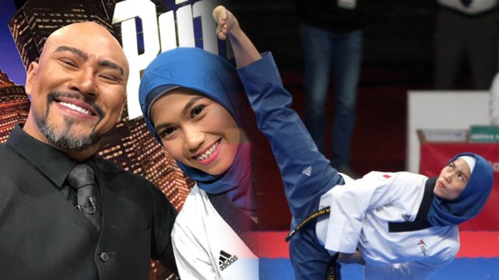 Ekspresi Ketakutan Atlet Taekwondo Defia Rosmaniar Saat Lihat Jarum Suntik