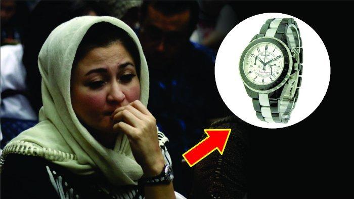 Bukan Tangisannya, Malah Jam Tangan Istri Setya Novanto yang Jadi Sorotan, Harganya Bikin Melongo!
