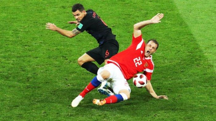 Inggris vs Kroasia: Dejan Lovren Jangan Lengah lagi Hadang Harry Kane