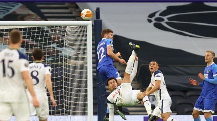 Gol Akrobatik Sambil Merem Dele Alli Belum Cukup Buat Jose Mourinho