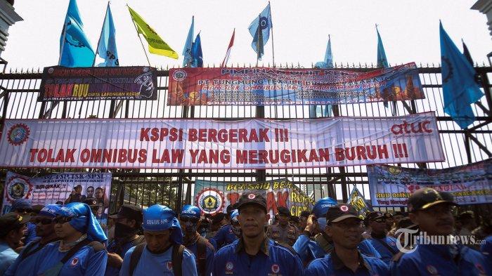 Omnibus Law RUU Cipta Kerja Tak Sesuai Prinsip, Buruh Beri Penolakan dan Ancam Demo Besar-besaran
