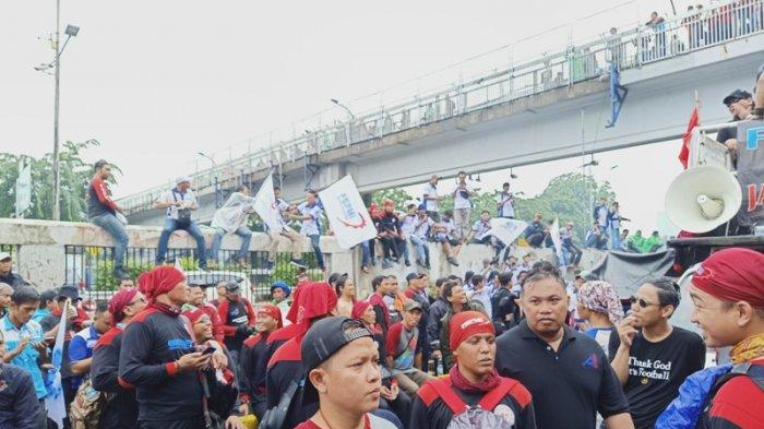 Said Iqbal Khawatir Omnibus Law Cipta Lapangan Kerja Rugikan Buruh