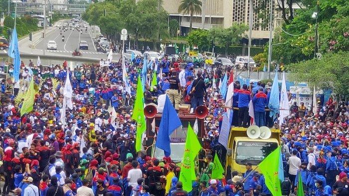 Buruh akan Terus Demo Hingga UU Cipta Kerja Dibatalkan