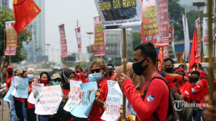 Peringati May Day, Buruh dan Mahasiswa akan Gelar Unjuk Rasa di Istana dan Gedung MK