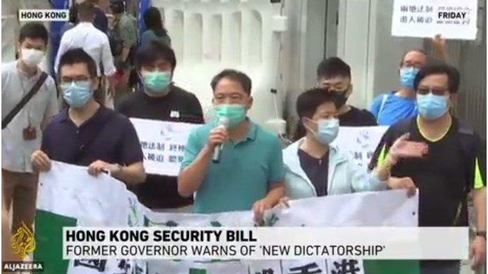 Polisi Hong Kong Tembakkan Gas Air Mata ke Ribuan Orang yang Turun ke Jalan di Tengah Pandemi Corona