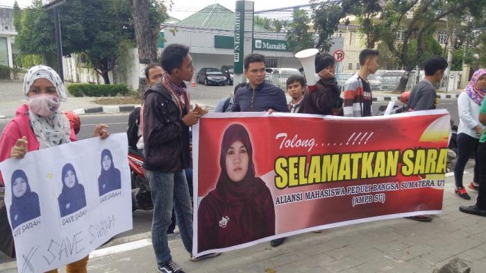 Massa AMPB Sumatera Utara Ancam Sweeping Mahasiswa Malaysia di Medan