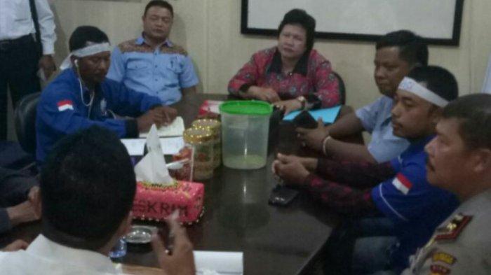 Temui Direskrimsus Polda Riau,  Ini yang Disampaikan SBSI Kuansing