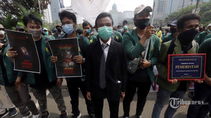 Kisah Demonstran yang Terjerat Kasus Usai Demo Ricuh di Jakarta, Dituduh Provokasi, Keroyok Polisi
