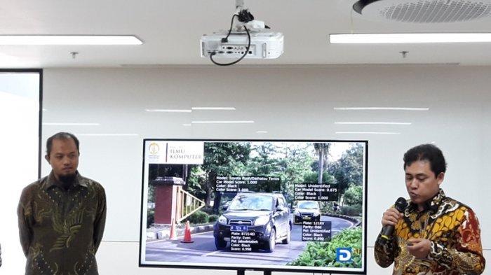 Di Depan Menristekdikti, Dosen  UI Demo Sistem Pengenalan Obyek Kendaraan