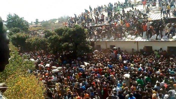 demonstrasi di Nigeria