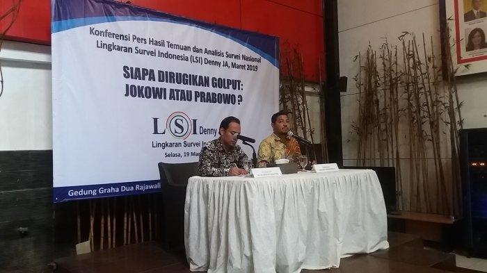Survei LSI: Prabowo-Sandi Paling Dirugikan Jika Kalangan Terpelajar Golput
