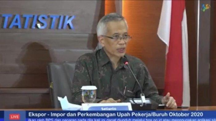 BPS Catat Inflasi November 0,28 Persen, Tertinggi di Tual
