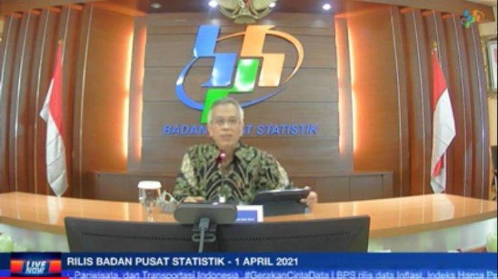 Deputi Bidang Statistik Distribusi dan Jasa BPS Setianto.