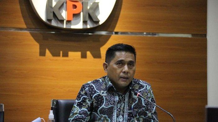 Deputi Penindakan KPK Karyoto di Gedung Merah Putih KPK, Jakarta, Rabu (14/10/2020).