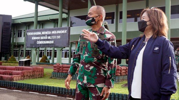 Perkuat Koordinasi Persiapan PON XX Papua, KSP Temui Pangdam dan Sejumlah Tokoh