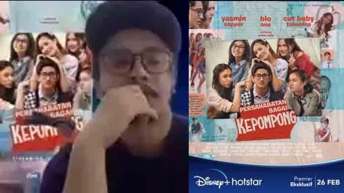 Poster film Persahabatan Bagai Kempompong yang diadaptasi dari sinetron tayang hari ini, Jumat (26/2/2021).