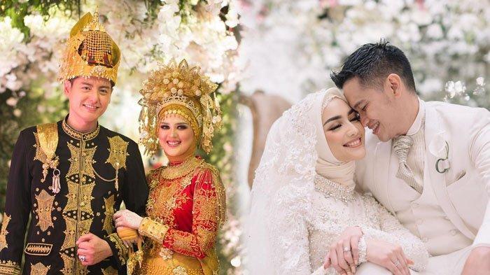 deretan 7 pasangan indonesia yang menikah di tahun 2019 ada yang pernikahannya tuai tanda tanya