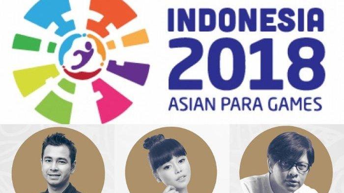 Ada Raffi Ahmad, Inilah Daftar Artis yang Bakal Meriahkan Opening Ceremony Asian Para Games 2018