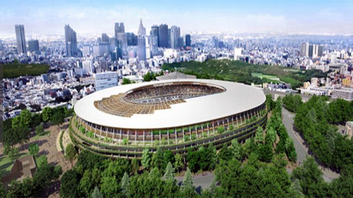Stadion Olahraga Nasional Jepang Diresmikan, di Mana Letak Tempat Obor Olimpiade?
