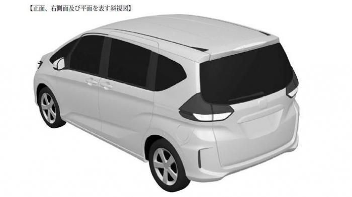 Sketsa Desain Paten Honda Freed Anyar Bocor di Internet