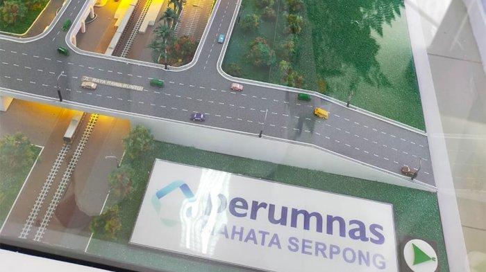 Desain pembangunan proyek Transit Tower Cattleya, Samesta Mahata Serpong.