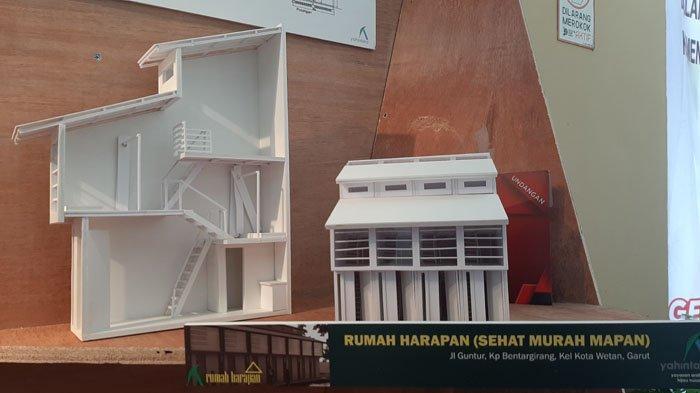 Foto desain Rumah Harapan (Sehat Murah Malan) 2x6 meter persegi oleh Yayasan Arsitektur Hijau Nusantara.