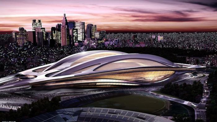 Desain Stadion Olahraga Nasional Jepang Karya Zaha Hadid Seharga 1,3 Miliar Yen Dibatalkan