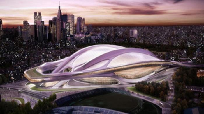Desain Stadion Olimpiade Tokyo 2020