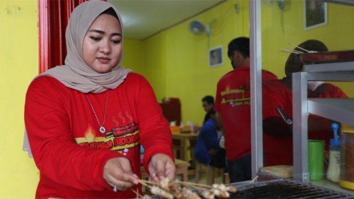 Dessy KDI Rambah Bisnis Kuliner, Jualan Sate Taichan dengan Resep Warisan Keluarga